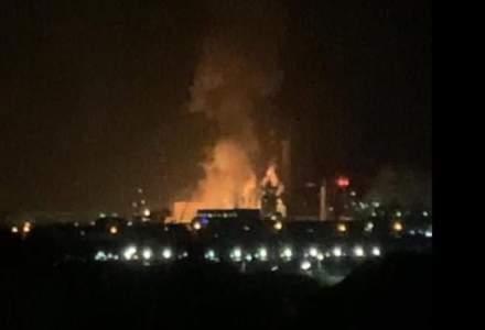 Ce spune Ministerul Mediului despre calitatea aerului, după explozia de la Azomureș