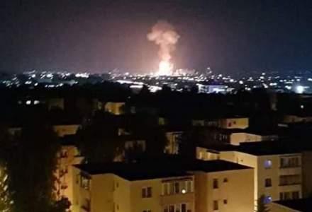 Azomureș: Explozia a fost cauzată de cedarea unei porţiuni de sub sudura unei conducte