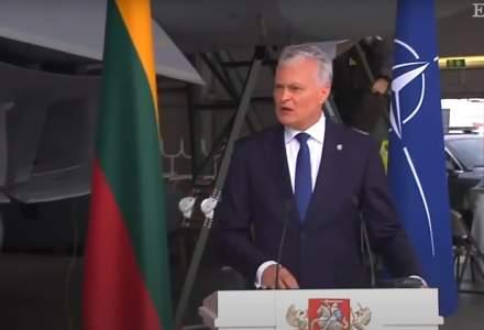 Alertă la o bază NATO din cauza unui avion rusesc. Premierul Spaniei și președintele Lituaniei, evacuați