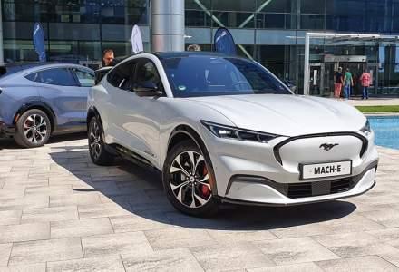 Ford a prezentat SUV-ul electric Mustang Mach-E în România. Primele livrări vor fi făcute în septembrie
