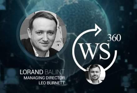 Saptamana marketingului la WALL-STREET 360: Lorand Balint (Leo Burnett), a vorbit despre tendintele din advertising