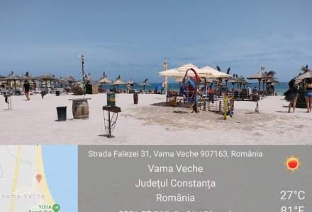 Nereguli pe litoral: amenzi de peste 600.000 lei pe plajele dintre Năvodari și Vama Veche