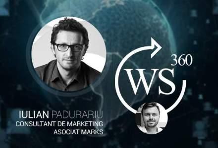 O discutie despre marketing cu Iulian Padurariu (Marks), in emisiunea WALL-STREET 360