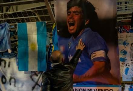 Dumnezeul fotbalului: S-a deschis biserica construită în amintirea lui Maradona