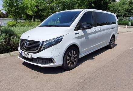 #WSDriveTest cu Mercedes-Benz EQV, un shuttle electric cu 8 locuri