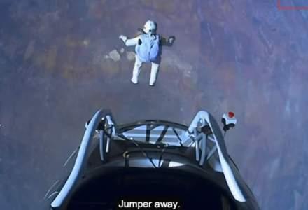 Felix Baumgartner, la Bucuresti: Cand eram mic, visam sa-mi pun amprenta pe aceasta planeta
