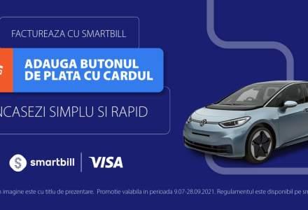 Digitalizarea IMM: SmartBill și Visa simplifică încasarea facturilor prin integrarea butonului de plată cu cardul