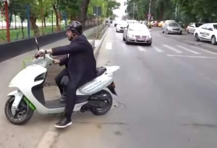 """Piedone, """"influencer"""" pe Facebook: plimbările sale pe scuter, mai urmărite decât Iohannis sau Cîțu"""