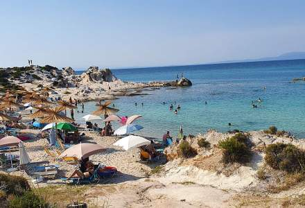 FOTO | Vacanță în Grecia 2021: Brațul Sithonia, locul cu cele mai frumoase PLAJE din Halkidiki