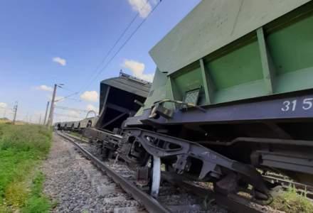 Circulaţie feroviară blocată la intrare în staţia CF Feteşti. Trenurile spre / dinspre litoral circulă deviat