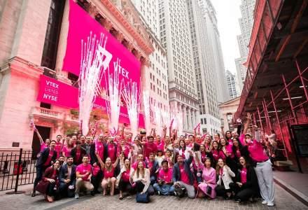 VTEX se mișcă bine pe bursa de la New York: IPO peste așteptări și acțiuni în creștere