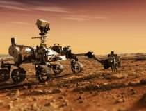 Interiorul planetei Marte a...