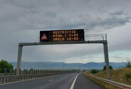 DN 1 A Ploieşti – Braşov s-a surpat în zona de munte: traficul este restricționat
