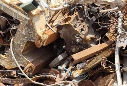Aproximativ 2.000 de tone deșeuri din diferite materiale, transportate ilegal din Ungaria, oprite la granița cu România