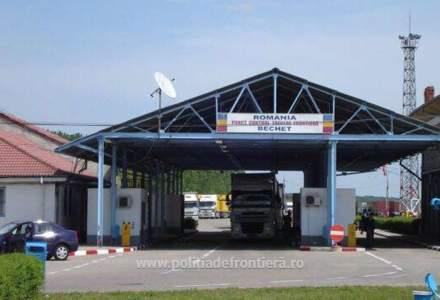 Punctul de Trecere a Frontierei Bechet este operațional și pentru autoturisme