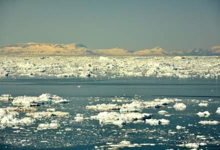 Caniculă și în Groenlanda: circa 8 miliarde de tone de gheață se topesc pe zi