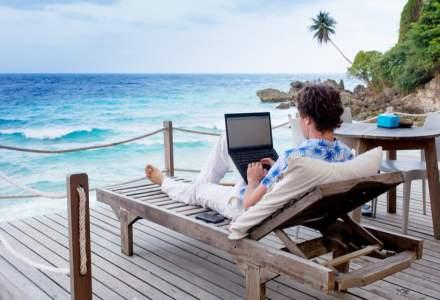 Poate fi la fel de productiv să lucrezi de acasă sau din Maldive, dar tehnologia slabă dă bătăi de cap