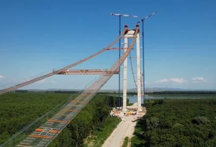 [VIDEO] Drulă: Lucrările la Podul din Brăila sunt la jumătate