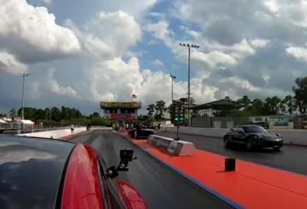 VIDEO: Tesla Model S Plaid s-a confruntat cu Porsche Taycan Turbo S