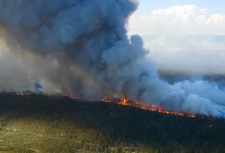 VIDEO | Incendii de vegetație în cea mai rece regiune locuită a planetei