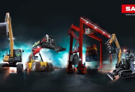 (P) SANY, lider mondial pe piata echipamentelor grele
