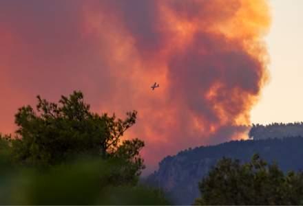 Avertisment pentru turiștii români din Grecia: ce drumuri din Thassos se închid din cauza incendiilor