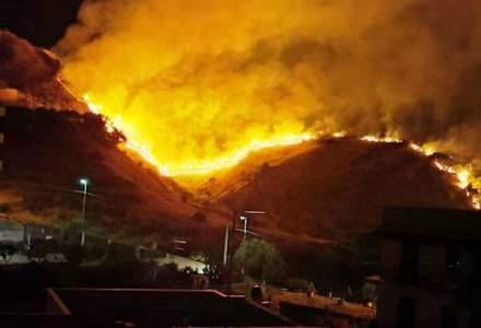 Încă o regiune din Europa, afectată de incendii. Sicilia declară stare de urgență