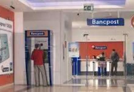 Eurobank, proprietarul Bancpost, are pierderi de 92,5 mil. euro in Romania