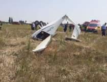 Avion prăbușit în Ilfov. Două...