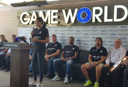 Game World bate palma cu CSM București pentru o sponsorizare de sute de mii de euro
