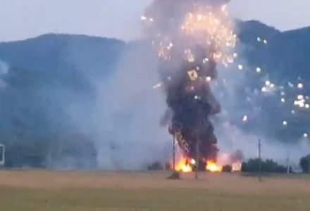 BREAKING NEWS   Explozie la uzina de armament Tohan Zărnești