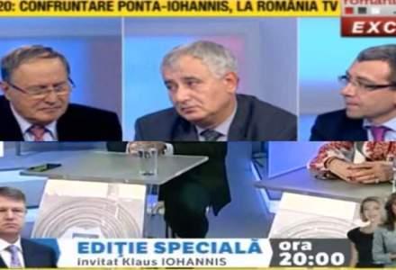 """Duelul """"Realitatilor"""": Romania TV si Realitatea TV anunta dezbaterea Ponta-Iohannis la aceeasi ora"""