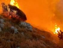 Incendii puternice în Italia,...