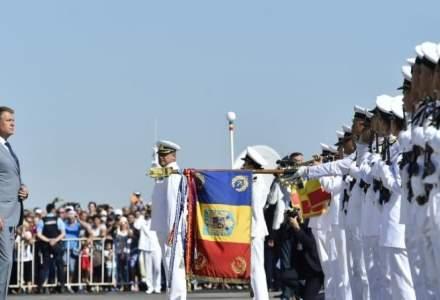 Klaus Iohannis, de Ziua Marinei: Fără o armată puternică, România nu își poate menține statutul de membru NATO