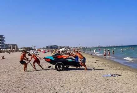 Constructorul plajei lărgite din Mamaia, despre proiect: Avem certitudinea că și peste 50 de ani plaja aceasta va fi tot aici