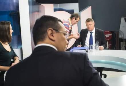 Ponta si Iohannis, fata in fata la dezbateri: care a fost calitatea prestatiilor si cum este influentat electoratul