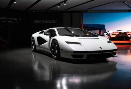 Lamborghini a prezentat noul Countach LPI 800-4, un model cu tente retro
