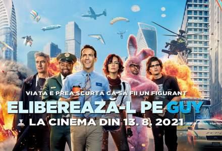 """Comedia """"Eliberează-l pe Guy"""", record de încasări în weekendul de lansare a filmului in cinematografele din Romania"""