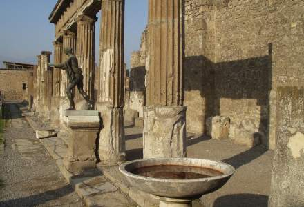 Arheologii au găsit primele dovezi care arată că greaca a fost folosită și în Roma Antică