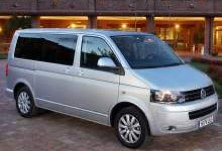Noile Volkswagen Transporter, Caravelle si Multivan au fost lansate in Romania