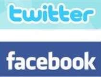 Facebook si Twitter, printre...