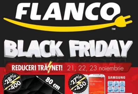 Vezi aici ofertele de Black Friday ale Flanco: televizoare sub 1.000 de lei, tablete sub 200 de lei [DOCUMENT PDF]