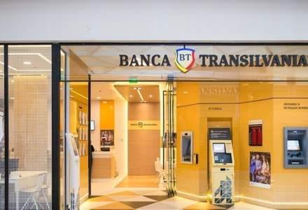 Banca Transilvania, câștiguri cu aproape 50% mai mari pe primul semestru față de anul trecut