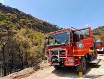 Pompierii români intervin...