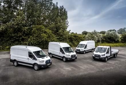 Ford testează autoutilitara complet electrică Ford E-Transit pe șoselele din Europa