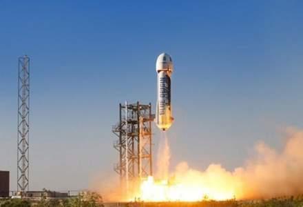 Blue Origin, compania lui Jeff Bezos, va zbura din nou în spațiu. Care este data lansării