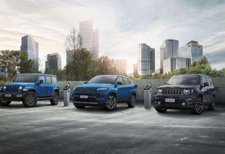 Gama electrificată Jeep 4xe este disponibilă în România