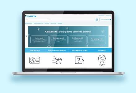 Daikin România își lansează propriul magazin online pentru piața locală