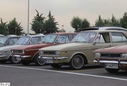 Limuzina Chrysler a dictatorului Nicolae Ceausescu, scoasa la licitatie