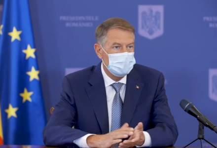Iohannis: Fac un apel către toate partidele să privească spre viitor și să le arate românilor că îi respectă